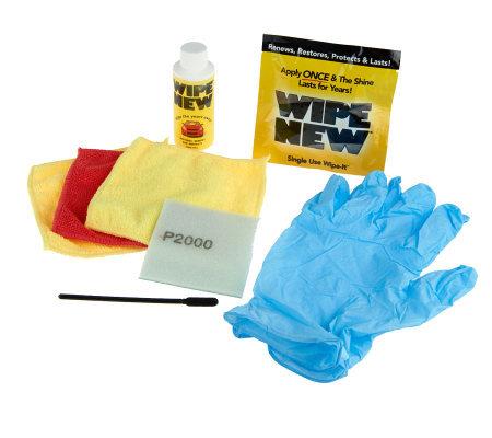 Wipe new automotive trim restoration kit w interior wipe - Auto interior restoration products ...