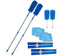 Set of 2 5pc. Microfiber Duster Sets w/ 2 Gift Boxes By Campanelli - V34117