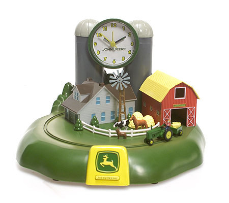 John Deere Tractor Sound Alarm Clock Qvc Com