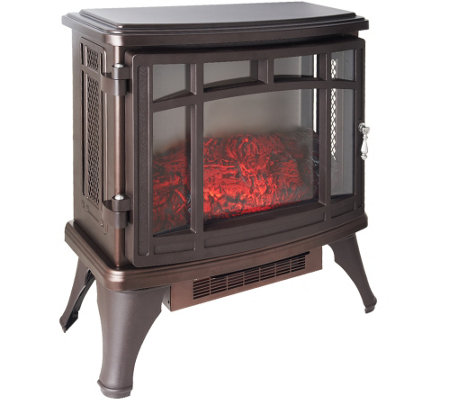 Duraflame Infrared Quartz Stove Heater with Flame Effect