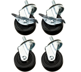 Pop-It Set of 4 Storage Shelf Wheels - V34418
