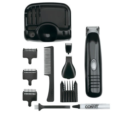 conair 11 piece battery operated beard and mustache trimmer. Black Bedroom Furniture Sets. Home Design Ideas