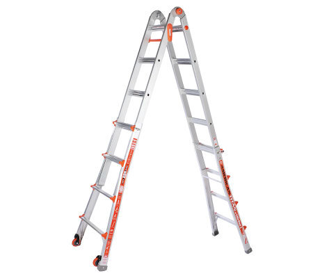 Little Giant 27-in-1 19' Ladder System with Wheel Kit