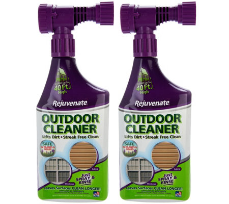 Rejuvenate Set Of 2 Outdoor Window And Siding Cleaners Page 1