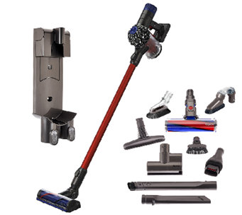 Dyson V6 Absolute Cordfree Vacuum w/9 Attachments & HEPA - V33422