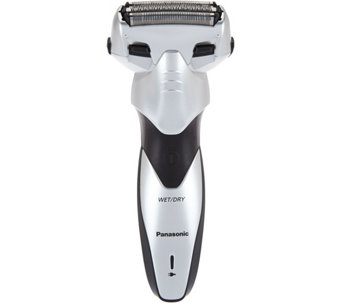 Panasonic Mens 3 Blade Wet / Dry Electric Shaver and Trimmer - V34422