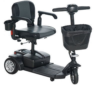 Drive Medical Compact Scooter w/ Swivel Seat & Cup Holder - V35622