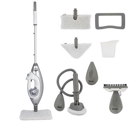 Great Shark Lift Away Professional Steam PocketMop WithAttachments