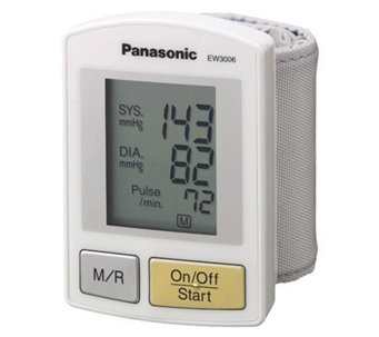 Panasonic EW3006S Wrist Blood Pressure Monitor - V117525