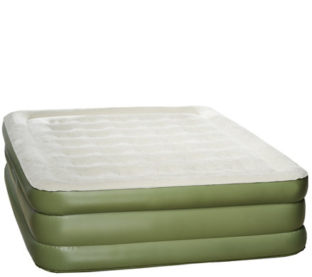 "AeroBed Queen 18"" Air Mattress with Antimicrobial Sleep Surface"
