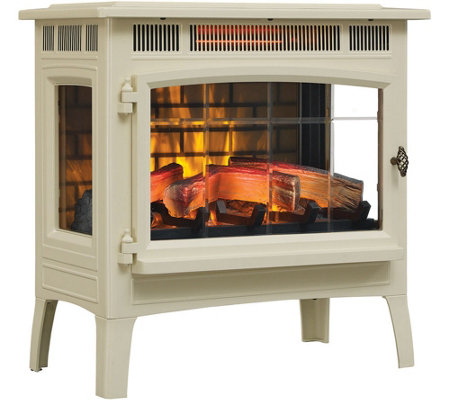 Duraflame Infrared Quartz Stove Heater with 3D Flame Effect & Remote