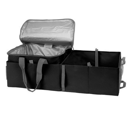 8-Way Folding Trunk Organizer with Waterproof Thermal Carrier