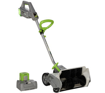 "Earthwise 14"" 40 volt Battery Operated 14"" Snow Shovel - V33726"