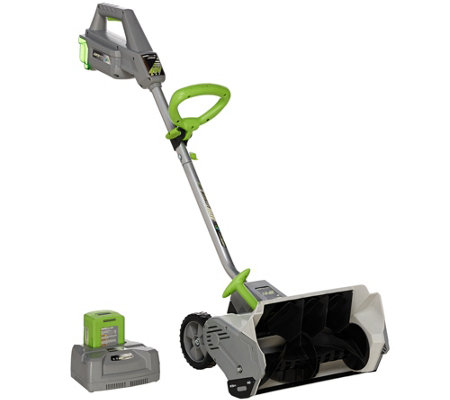 "Earthwise 14"" 40 volt Battery Operated 14"" Snow Shovel"