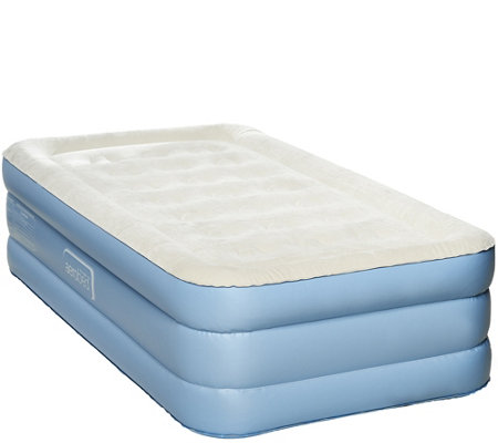 Aerobed Twin 18 Quot Air Mattress With Antimicrobial Sleep