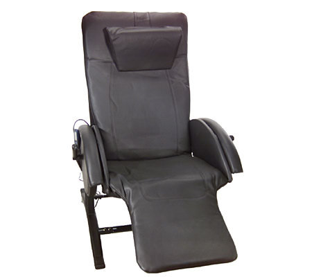 Homedics anti gravity recliner w 10 motor massage with for Anti gravity chaise recliner