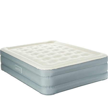 "Aerobed Queen 18"" Comfort Adjust Antimicrobial Air Mattress"