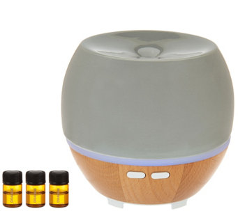HoMedics Ellia Ultrasonic Aromatherapy Essential Oil Diffuser - V34327
