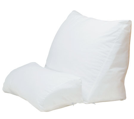 Contour 4-Way Flip Back Support Pillow