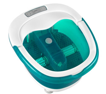 HoMedics Deep Soak Duo Foot Bath with Heat Boost Power - V119731