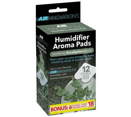 """As Is"" Air Innovations 18- pack Essential Oil Humidifier Aroma Pads"