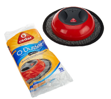 o-cedar o-duster robotic floor cleaner w/ cleaning pads - page 1
