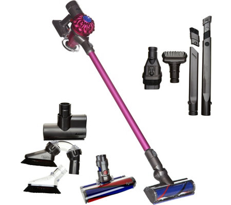 Dyson V6 Animal PRO Cordfree Vacuum with Fluffy Head & 7 Tools