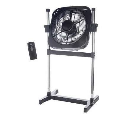 Air Innovations 2-in-1 Stand &Tabletop Whirl Cool Fan with Remote