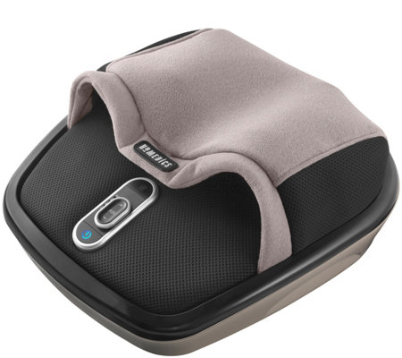 HoMedics Shiatsu Air Max Rolling Foot Massagerwith Heat