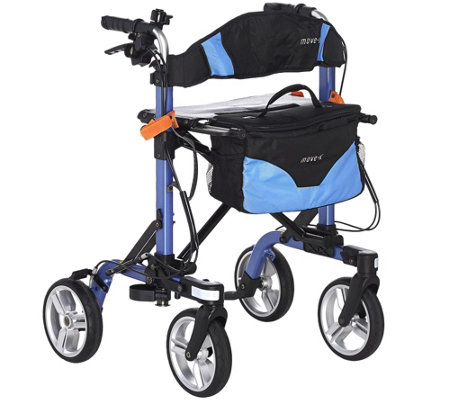 EV Rider Foldable Lightweight Rollator with Bag