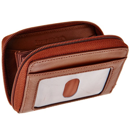 Rogue Wallet Accordion Wallet with Built-in RFID Protection
