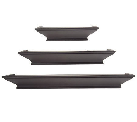 Burnes ofBoston Set of 3 Decorative Ledges with Level-Line