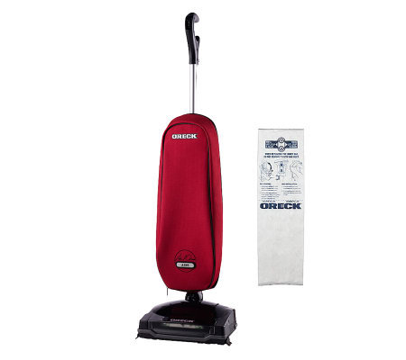 Oreck Axis Lightweight Vacuum w/Swivel Steering & HEPA Inner Bag