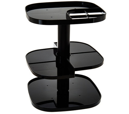 Multi-Purpose 3-Tier Adjustable Spinning Organizer
