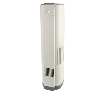 brookstone pure ion air purifier with 3 stage filtration. Black Bedroom Furniture Sets. Home Design Ideas