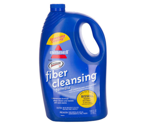 Bissell 128oz Fiber Cleansing Formula With Scotchguard