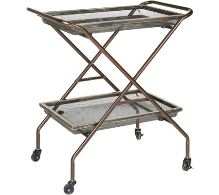 Pop-It Collapsible What - A- Cart with Wheels and Trays