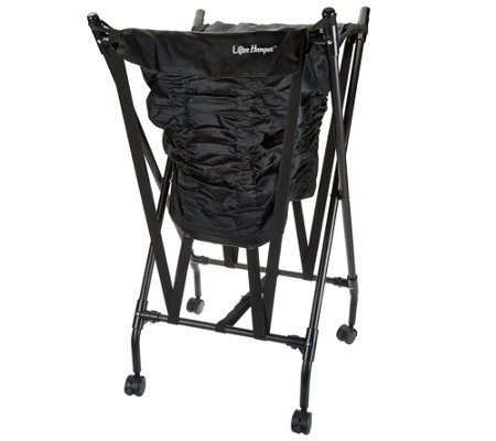 Lifter Hamper Auto Lift Spring Loaded Hamper with Wheels