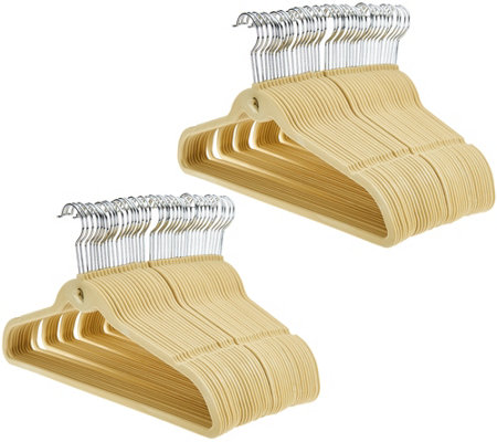 ClutterFree Set of 80 Space Saving Cascading Hangers
