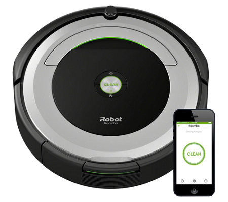 iRobot Roomba 690 Wi-Fi Connect Robotic Vacuum & Accessory Kit