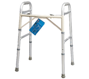 Carex Dual Button Extra-Wide Adjustable Walker - V119645