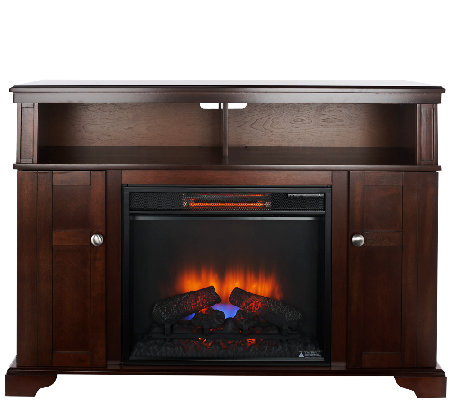 Duraflame Merino Infrared Quartz Corner or Wall Fireplace
