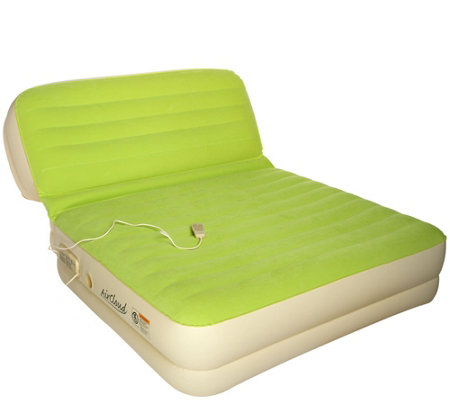 Air Cloud Inflatable Queen Airbed with Inclining Backrest