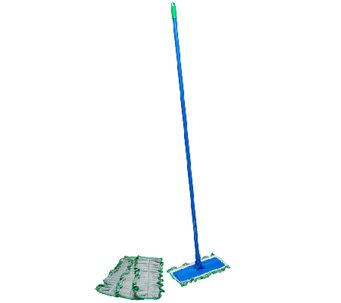 Don Aslett's All-in-One 5 piece Microfiber Mop & Duster - V33347