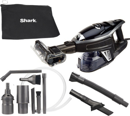 shark rocket deluxe pro ultralight handheld vacuum w attachments