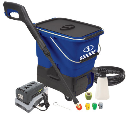 Sun Joe Pressure Select 40v Cordless Pressure Washer W 5