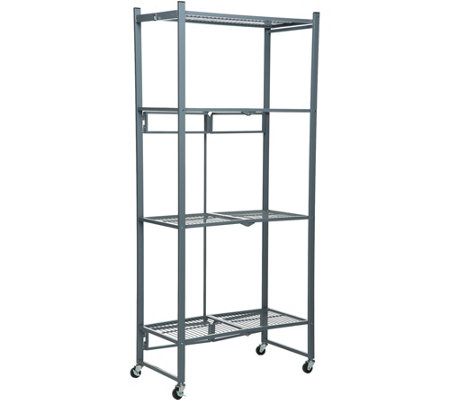 Oasis 4-Tier Heavy Duty Folding Storage Rack