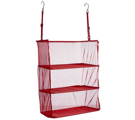 Expandable Hanging Suitcase Organizer by Pursfection