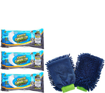 Green Gobbler Automotive Clean and Shine Towels - V33748