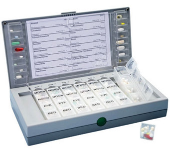 MedFolio Medication Management Device State-of-the-Art Pillbo - V118050